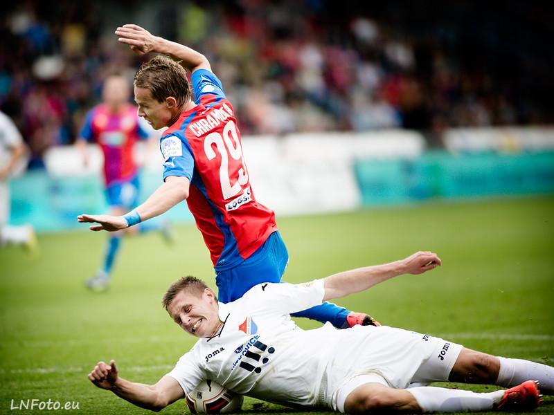 SYNOT LIGA, 8.kolo: Plzeň - Ostrava 2:0
