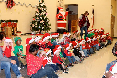 F.L. Moffitt Kindergarten Christmas Program