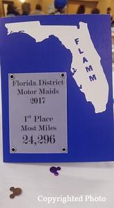 Bobbie Aitken won most miles