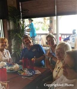Mayanne Todd, Camilla Cash, Karrie Spooner, Joyce Cadorette