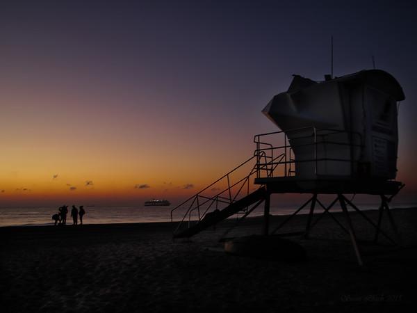Ft Lauderdale Beach at Dawn