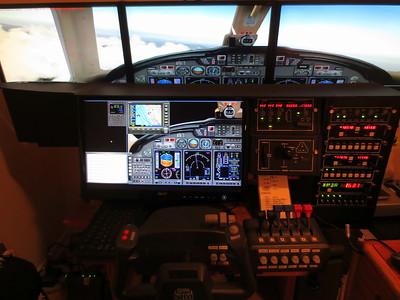My Flight Simulator - pics and video