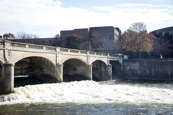 The river has suffered from decades upon decades of industrial pollution, although cleanups following the Clean Water Act mean that pollution is vastly improved from the 1950s and 1960s.