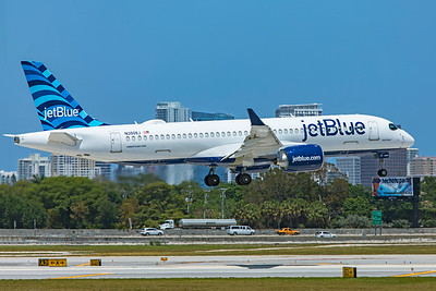 jetBlue Airways Airbus A220-300 N3008J 4-14-21 2