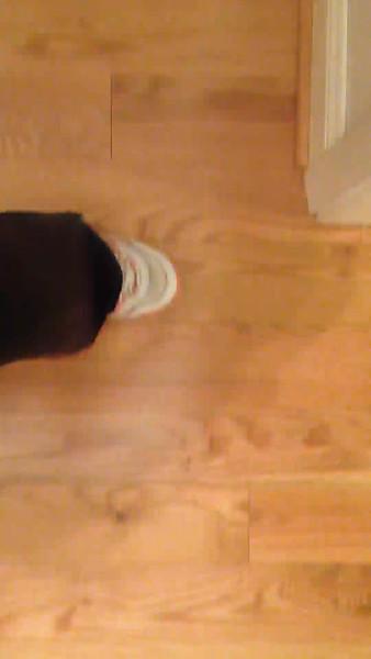 Squeek in floor