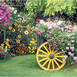 "Print title:  ""  THE OXEN CART GARDEN  ""  /  © Gj"