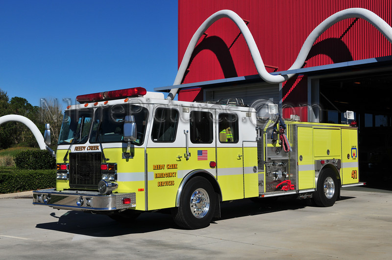 REEDY CREEK EMERGENCY SERVICES ENGINE 41