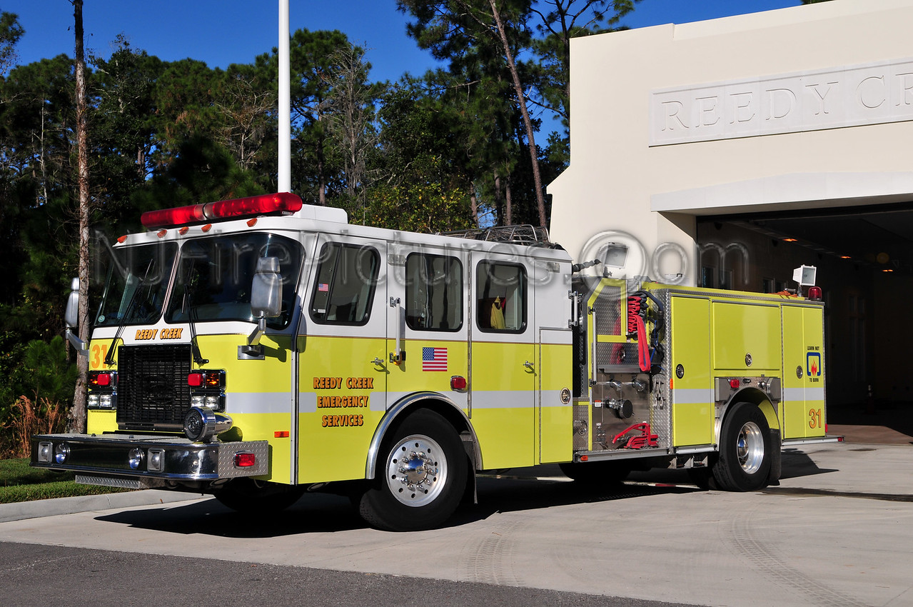 REEDY CREEK EMERGENCY SERVICE ENGINE 31