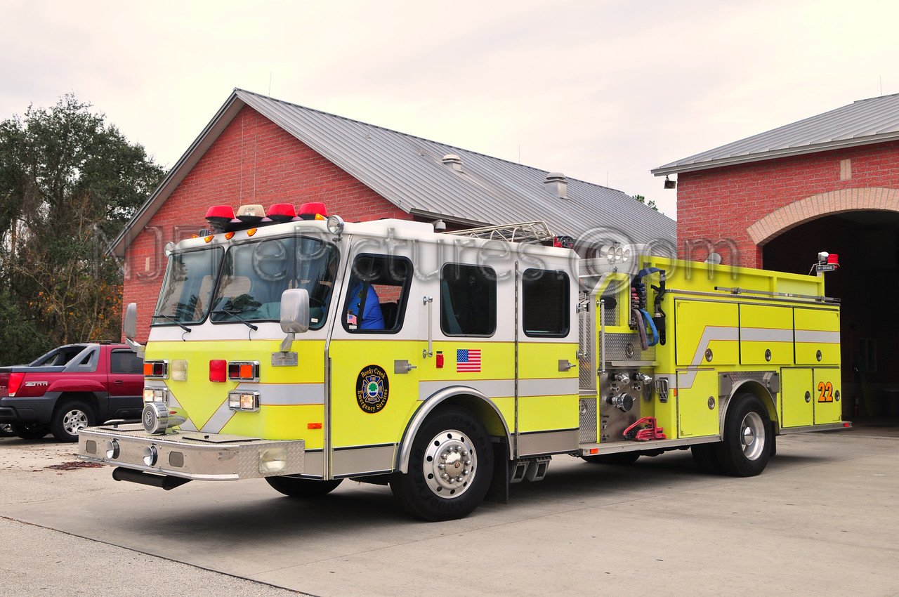 REEDY CREEK ENGINE 22 - 1992 EMERGENCY ONE 1750/500/50