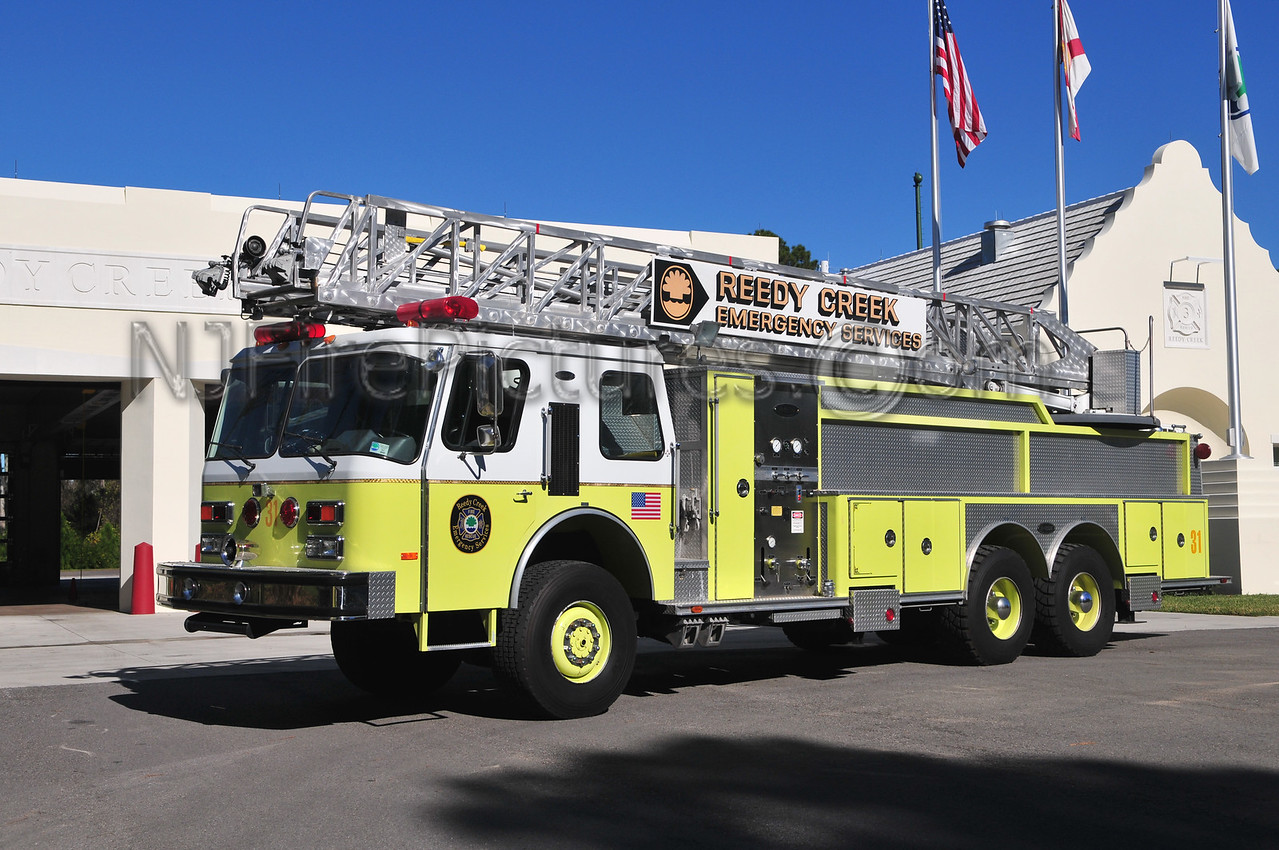 REEDY CREEK EMERGENCY SERVICES TRUCK 31
