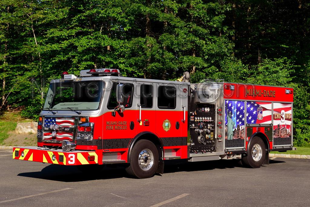 MIAMI-DADE, FLORIDA FIRE RESCUE ENGINE 3