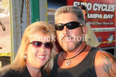 Quaker Steak & Lube Clearwater Bike Night, Grass Flats & Harlie's
