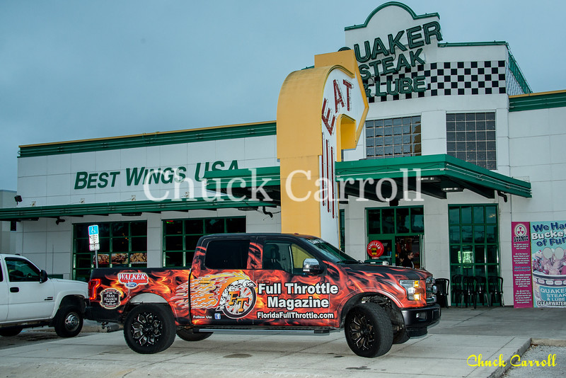 Quaker Steak & Lube – Bike Night –1- 8-2017 – Chuck Carroll