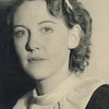 Virginia/Mother's High School Graduation photo 1936.  She and her classmates kept in close contract for years and had reunions upto about their 60th.