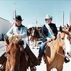 Floyd and Virginia Bramwell - Grand Marshals for RRR Parade.  This was one of Dad's favorite photos of them together.  They really enjoyed this time together in the parade.