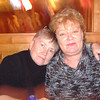 Marvel and Pam at steak house.  Pammy was so brave... she had lost her daughter, Nikki, in June 2006.