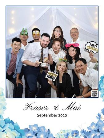 Fraser & Mai wedding instant print photo booth |  Chụp hình in ảnh lấy ngay Tiệc cưới tại Hà Nội | Hanoi Photobooth