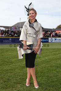 Blaithin Dunleavy - Gold Fever's Best Dressed Lady on Ladies Day at the Punchestown Festival (April 2015)