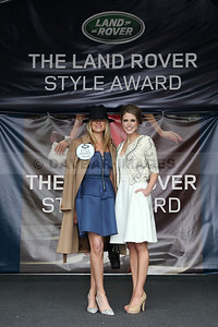 Emer Flanagan - Land Rover Style Awards 'Best Dessed Lady' at the Punchestown Festival (May 2014)