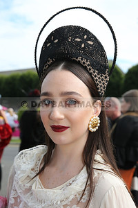 Kaela Keegan - Winner of the 'Great Lengths' Most Creative Hat at the RDS (August 2017)