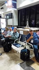 Leaving TJ airport, many radio club memebrs.