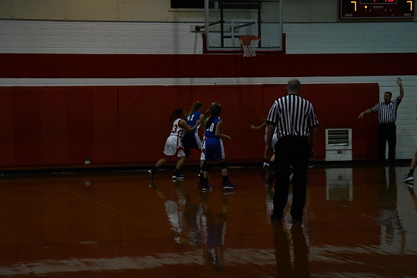 FMS girls-St. Marys basketball 1-24-18