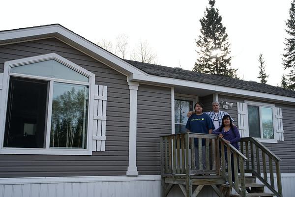 Kim and Corinne Diamond at their home.