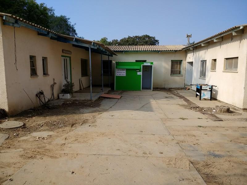 Kibbutz Kissufim is 1 mile from Gaza border
