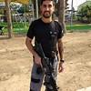 """Sa'ar is the """"Rav'shatz"""" Security Officer is charge of Kibbutz Kissufim"""