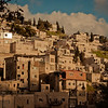 West Bank - the square homes with one level built on top of the last is Muslim architecture.