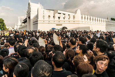 Thai King Bhumibol Adulyadej dies at 88.  Buddhist funeral ceremonies have been held at Bangkok's grand palace for Thailand's revered king Bhumibol Adulyadej, as the country began an extended period of mourning for the monarch, who ruled for 70 years.  King Bhumibol ascended to the throne 70 years ago (on 5 May 1950), making him the world's longest-reigning living monarch, before his death (13 October 2016). #Longivetheking #Bhumibol #Thailand #Bangkok #Nicolavigilanti #Photography #Documentary - www.nicolavigilanti.net