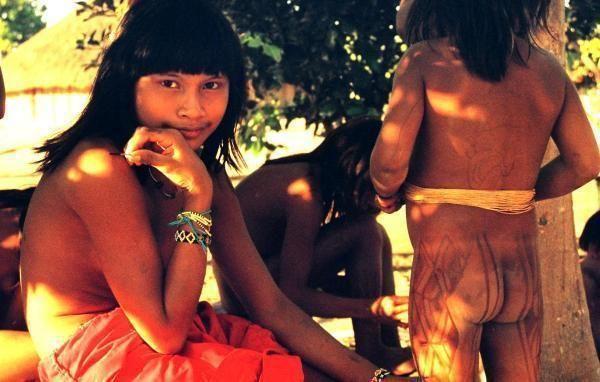 Aldeia Kamayura, Xingu,  2007