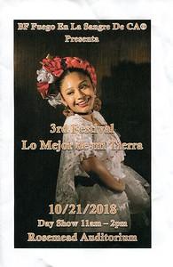 10-21-2018  VIDEO CLIPS - LO MEJOR DE MI TIERRA