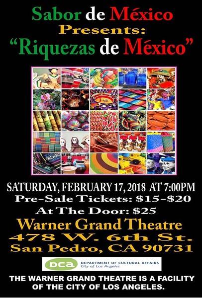 2-16-2018 RIQUEZAS de MEXICO