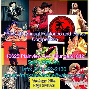 9-29-2018  FADS 4th ANNUAL FOLKLORICO DANCE COMPETITION