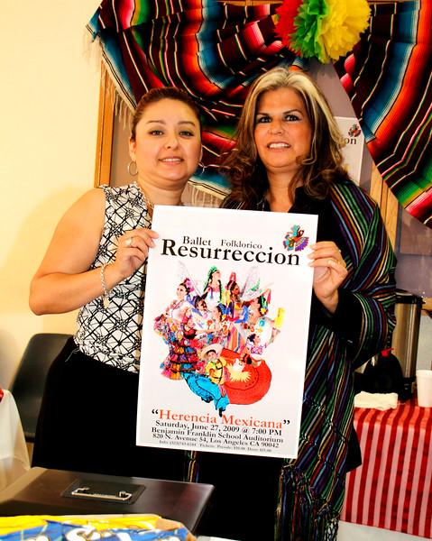 """Ballet Folkorico Resurreccion.  """"Herencia Mexicana""""  Saturday, June 27, 2009 @ 7:00 P.M.  Benjamin Franklin School Auditorium.  820 N. Avenue 54, Los Angeles, CA 90042"""