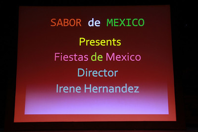 Sabor de Mexico Presents Fiestas de Mexico.  Director Irene Hernandez 2-16-2013
