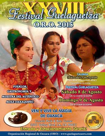 8-8-2015 FESTIVAL GUELAGUESTZA