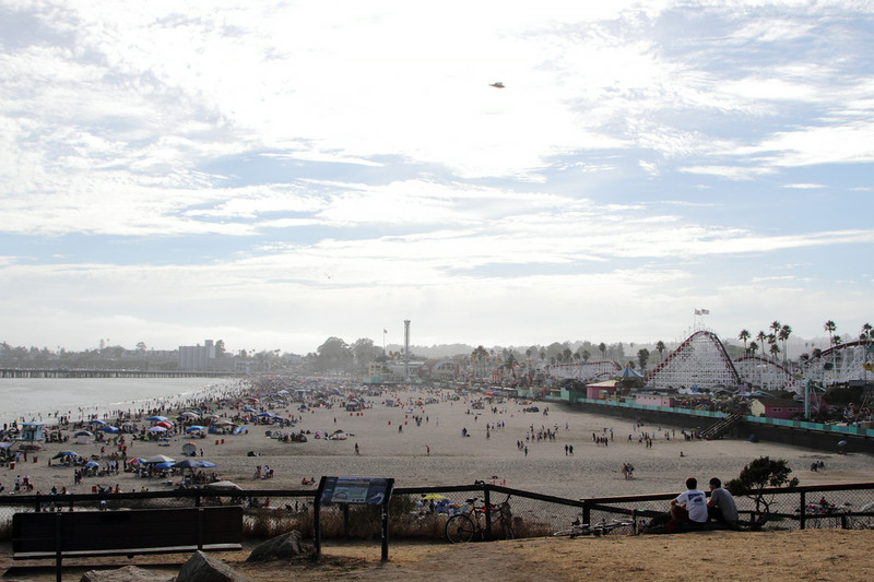 Santa Cruz Boardwalk in all its glory