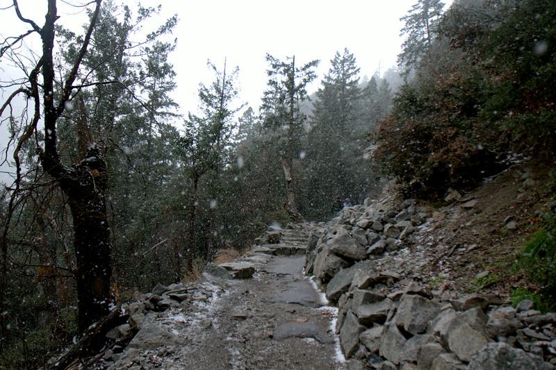 Snow on the John Muir Trail