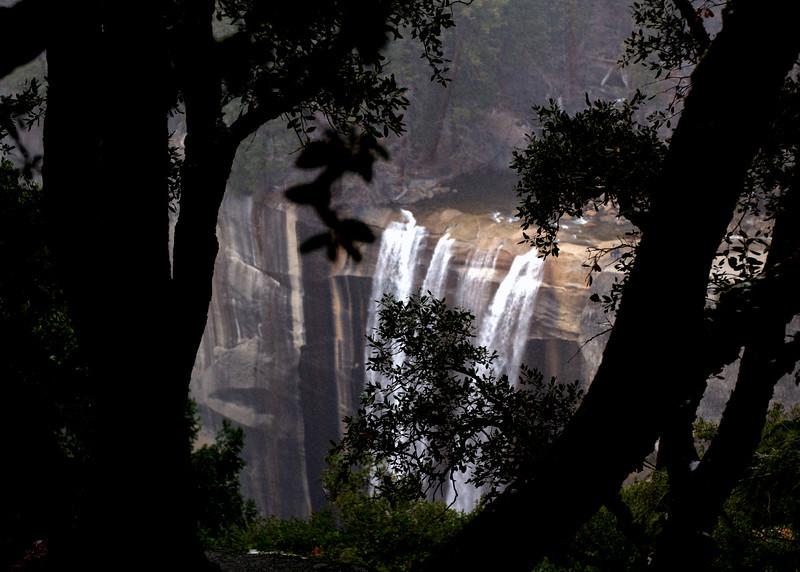 Vernal Falls from John Muir Trail