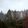 Nevada Falls from Vernal