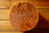 Manchego cheese from Spain in wooden table