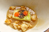 Cabbage stew with pork rinds