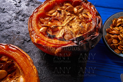 Roasted pumpkin recipe outumn halloween