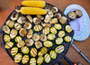 artichoke zucchini corn cob grill vegetables