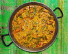 Paella from Spain rice recipe from Valencia