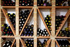 Wine Cellar from Mediterranean with bottles