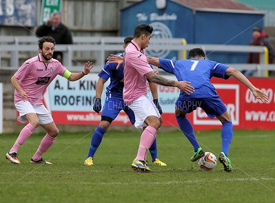 CHIPPENHAM TOWN V CORBY TOWN 8th Feb 2014