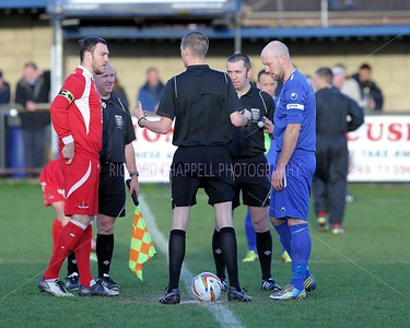 CHIPPENHAM TOWN V FROME TOWN MATCH PICTURES 26th Dec 2013